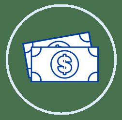 CAP money icon