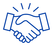 CAP handshake icon