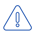 CAP warning exclamation security icon