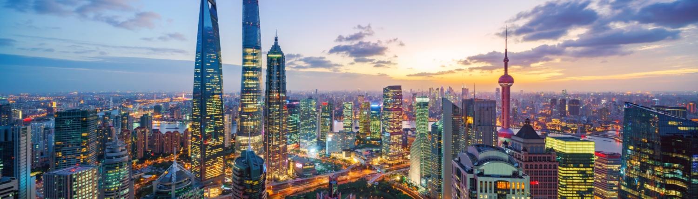 CAP Shanghai Skyline Sunset