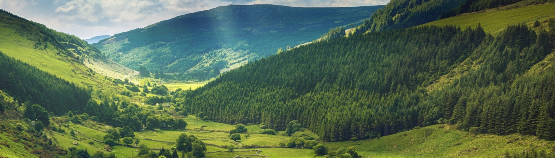 CAP Glenmacnass Valley, County Wicklow, Ireland