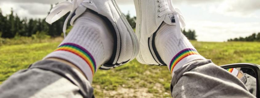 Rainbow Socks in Australia
