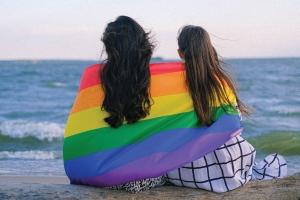 Pride Flag at Beach