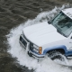 Truck Driving in Flood